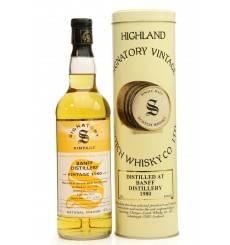 Banff 22 Years Old 1980 Single Cask - Signatory Vintage