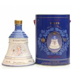 Bell's Decanter - Queen Mother's 90 Birthday