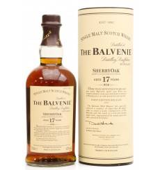 Balvenie 17 Years Old - Sherry Oak First Release 2007