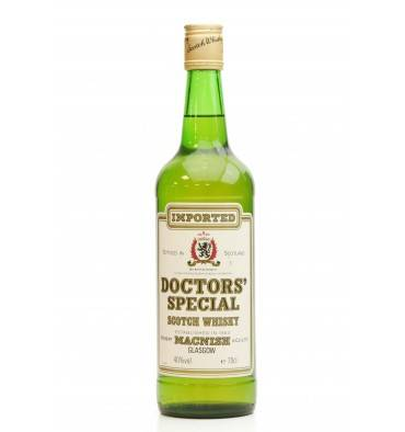 Doctors' Special Scotch Whisky - Robert MacNish