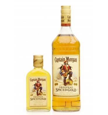 Captain Morgan Original Spiced Gold Rum (1-Litre & 20cl)
