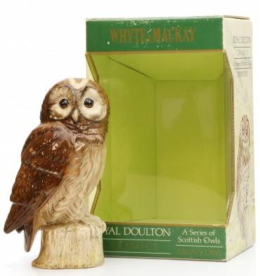 Whyte & Mackay Royal Doulton - Tawny Owl Ceramic Decanter