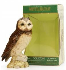 Whyte & Mackay Royal Doulton - Short Eared Owl Ceramic Decanter
