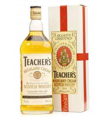 Teacher's Highland Cream - Season's Greetings Gift Box