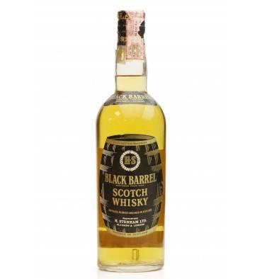 Black Barrel Blended Whisky - H. Stenham Ltd (75cl)