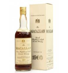 Macallan 1960 - 80° Proof - Campbell Hope & King