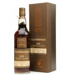 Glendronach 41 Years Old 1972 - Single Cask No. 702