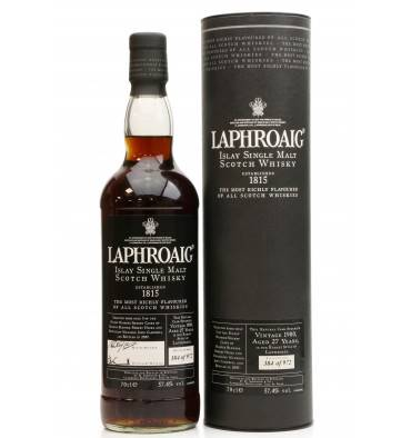Laphroaig 27 Years Old 1980