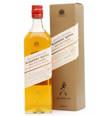 Johnnie Walker Blenders' Batch No.1 - Red Rye Finish