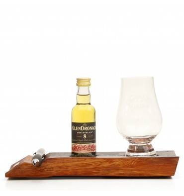 Glendronach 8 Years Old 'The Hielan'  Miniature, Stand, Pen and Nosing Glass