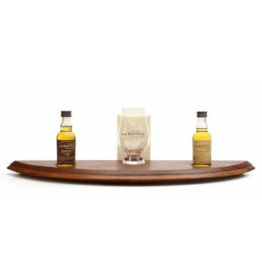 Balvenie 14/17 Years Old Miniatures, Stand and Nosing Glass