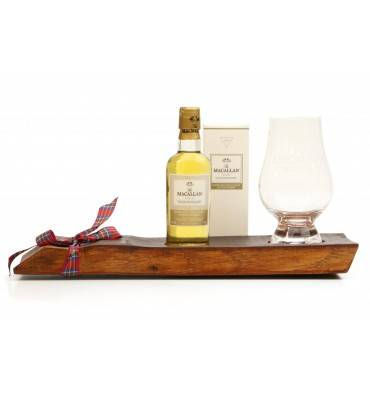 Macallan Gold Miniature, Stand and Nosing Glass