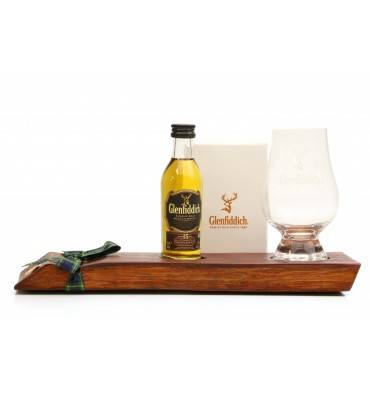 Glenfiddich 15 Years Old Miniature, Stand and Nosing Glass