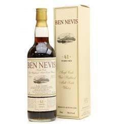 Ben Nevis 41 Years Old 1967 Single Sherry Cask - For Alambic Classique