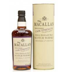 Macallan Cask Strength 1980 - Oloroso Sherry Butt (50cl)