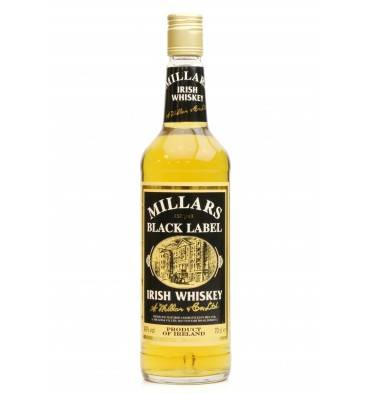 Millars Black Label Irish Whiskey