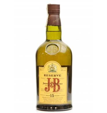 J&B 15 Years Old - Reserve