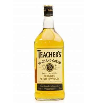 Teacher's Highland Cream (1 Litre)