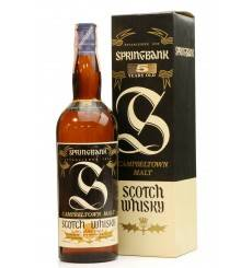 Springbank 5 Years Old - Pure Malt