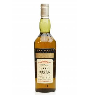 Brora 22 Years Old 1972 - Rare Malts