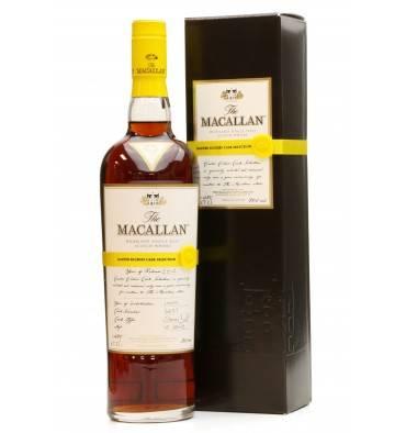 Macallan Easter Elchies - 2012