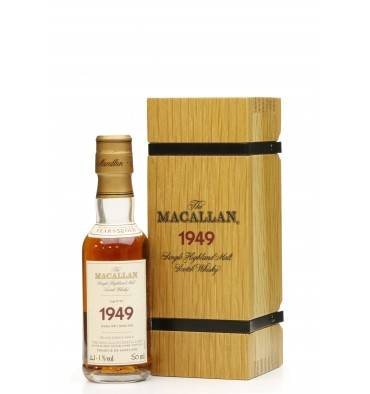 Macallan 52 Years Old 1949 - Fine & Rare Miniature