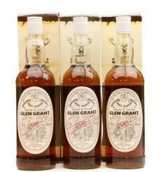 Glen Grant 1950, 1951 & 1952 - Gordon & MacPhail (3x70cl)
