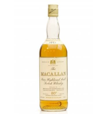 Macallan 1961 - 80° Proof