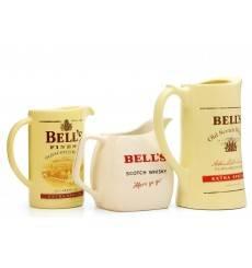 Bell's Water Jugs X3