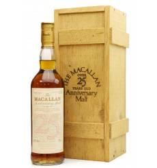 Macallan Over 25 Years Old 1966 - Anniversary Malt