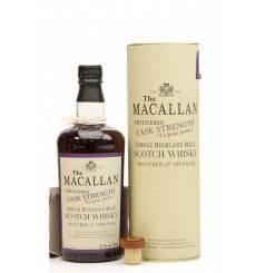 Macallan Cask Strength 1980 - Oloroso Sherry Butt (50cl)