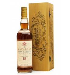 Macallan 18 Years Old  1980 - Gran Reserva