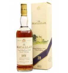Macallan 18 Years Old 1972