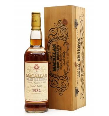 Macallan 18 Years Old  1982 - Gran Reserva