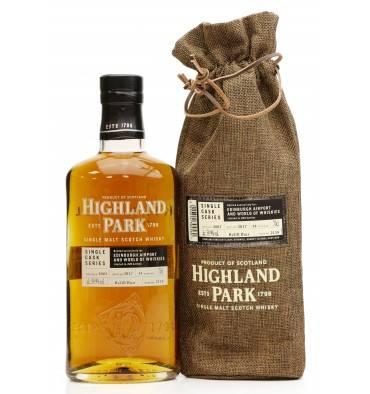 Highland Park 14 Years Old 2003 Single Cask - Edinburgh Airport & World of Whiskies