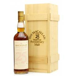 Macallan Over 25 Years Old 1969 - Anniversary Malt