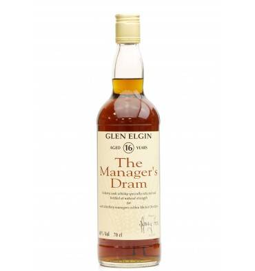 Glen Elgin 16 Years Old - The Manager's Dram 1993