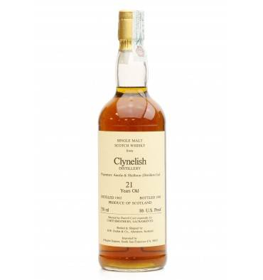 Clynelish 21 Years Old 1965 - Duthie For Corti Brothers (75cl)