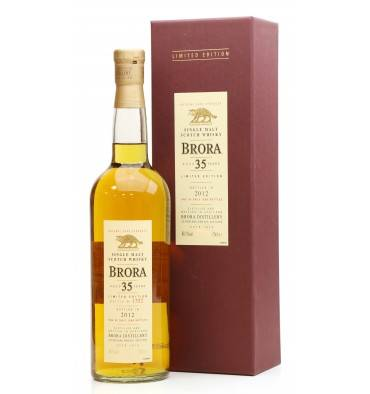 Brora 35 Years Old - 2012 Limied Edition