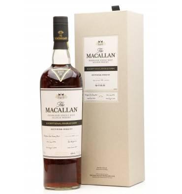 Macallan 1997 - 2017 Exceptional Single Cask No.1 (US Import)