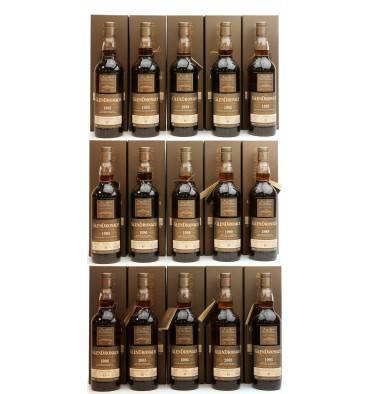Glendonach Single Cask - Batch 16 Set (15 x 70cl)