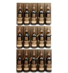Glendonach Single Cask - Batch 16 Set (15 x 70cl)