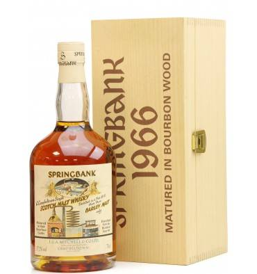 Springbank 1966 Local Barley - Bourbon Wood