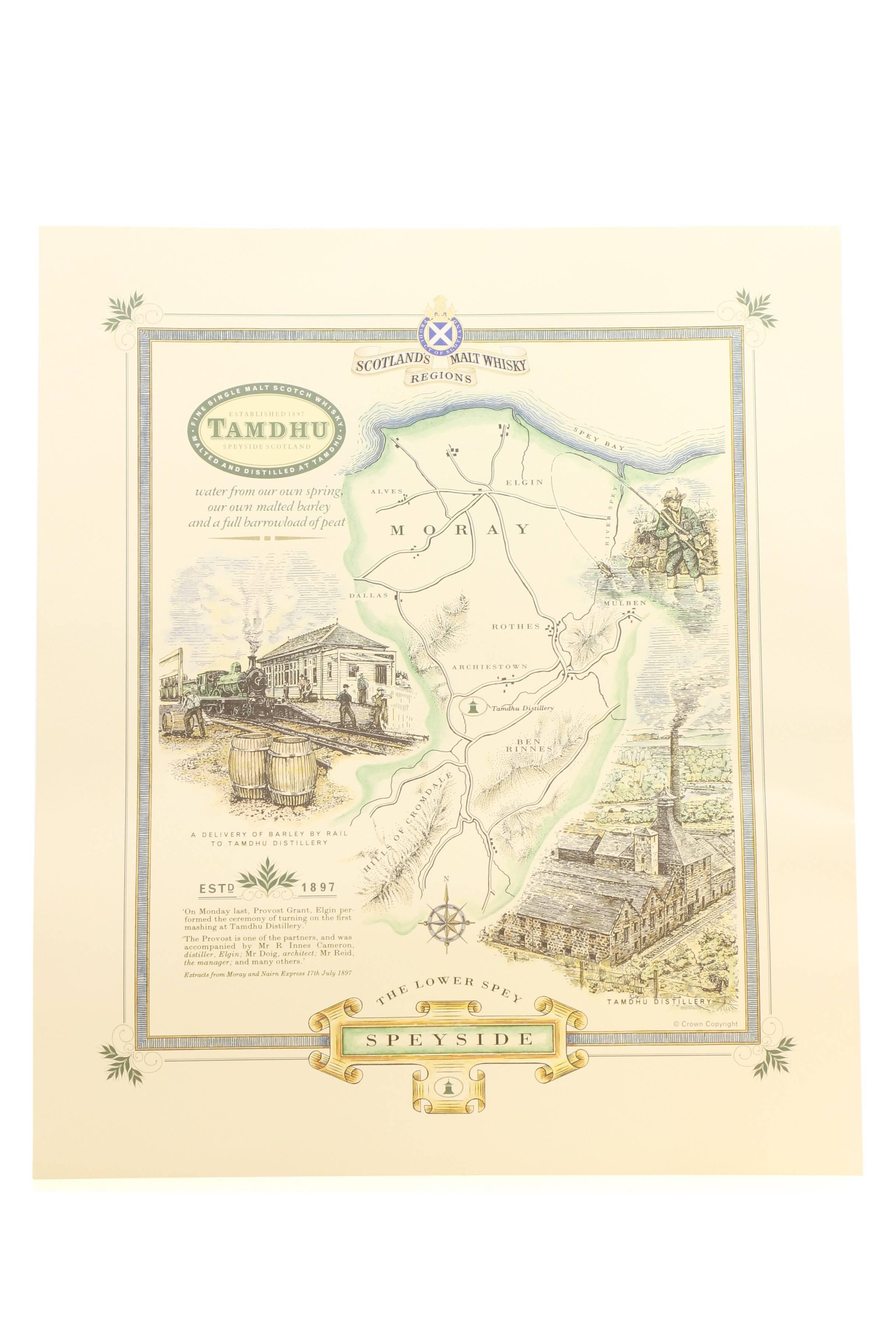 Decorative Scottish Distillery Maps - Highland Park/Tamdhu ... on scottish confectionery, scottish museum, scottish textiles, scottish furniture, scottish golf, scottish transportation, scottish lighthouse, scottish railway, scottish chapel, scottish gin, scottish restaurants, scottish fishing, scottish mining, scottish vodka, scottish spirits,