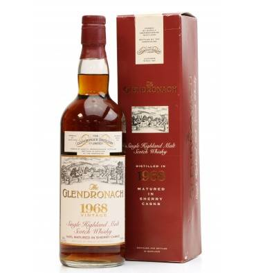 Glendronach 25 Years Old - Vintage 1968 (75cl)