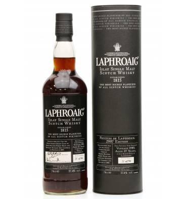 Laphroaig 27 Years Old 1980 (1 of 94 bottles)