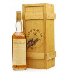Macallan Over 25 Years Old 1962 - Anniversary Malt