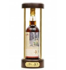 "Glenfarclas 40 Years Old - Scottish Classic ""The Jolly Beggars"""