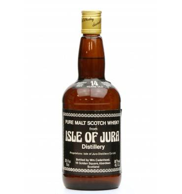 Isle Of Jura 14 Years Old 1964 - 1979 Cadenhead's Dumpy