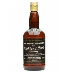 Highland Park 23 Years Old 1957 - 1980 Cadenhead's Dumpy
